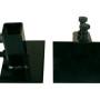 Unibody Brackets for Vehicle Rotisserie