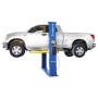 The Lift Pro 9F is a 9,000 lbs. capacity base plate style hydraulic automotive lift with symmetric style arms.